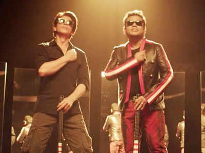 रहमान और शाहरुख खान