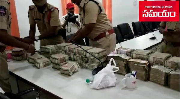 kazipet police seized rs 3 5 crores during election checkings