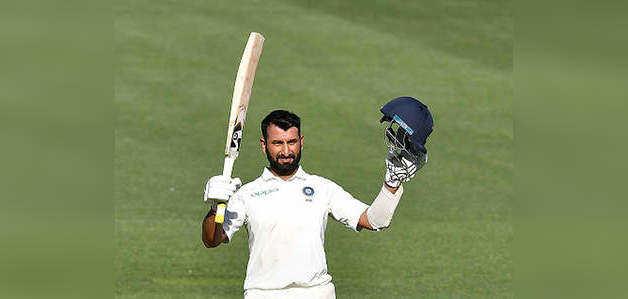 Ind vs Aus: पुजारा जमे, भारत की कुल बढ़त 160 के पार