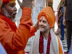 if rahul gandhi is a hindu brahmin should support ram temple uma bharti
