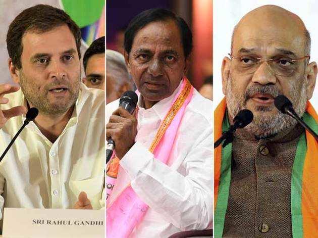 तेलंगाना: रिजल्ट से पहले BJP, कांग्रेस, दोनों ने चला अपना दांव