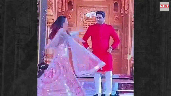 aishwarya rai and abhishek bachchan mesmerizing performance at isha ambani pre wedding