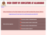 allahabad high court recruitment for 3495 post begins apply at allahabadhighcourt in