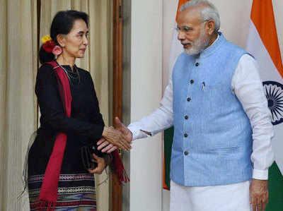 भारत और म्यांमार के बीच संबंध हो रहे मजबूत