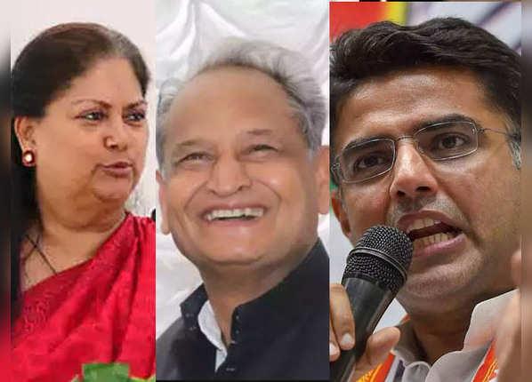 राजस्थान में कौन आगे, कौन है पीछे