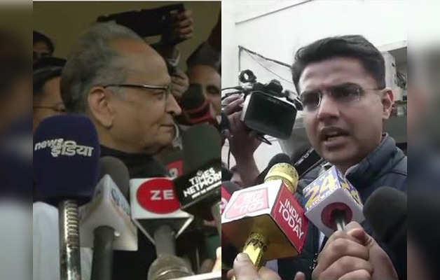 अशोक गहलोत और सचिन पायलट ने दिया राहुल को श्रेय