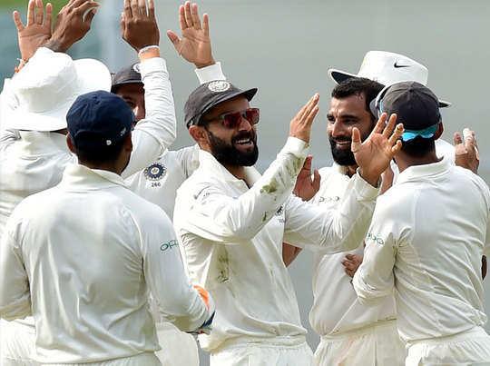 ऐडिलेड में भारतीय टीम ने जीता हासिल कर ली है।