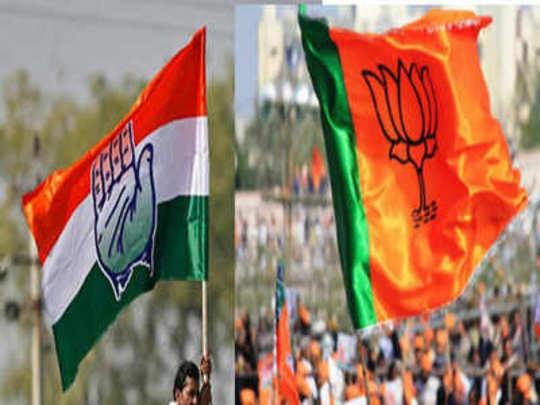 Vidhan Sabha Nivadnuk Nikal 2018: काँग्रेसची मुसंडी, भाजपची घसरगुंडी!