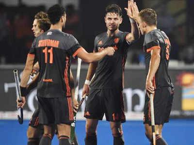 नीदरलैंड क्वॉर्टर फाइनल में भारत से भिड़ेगा।
