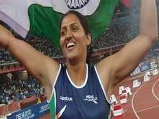 commonwealth games gold medallist krishna poonia wins sadulpur seat in rajasthan