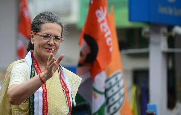 चुनावी परिणामों पर सोनिया गांधी ने जताई खुशी