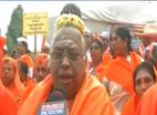 दिल्ली: 2,000 से अधिक लिंगायतों का जंतर-मंतर पर प्रदर्शन