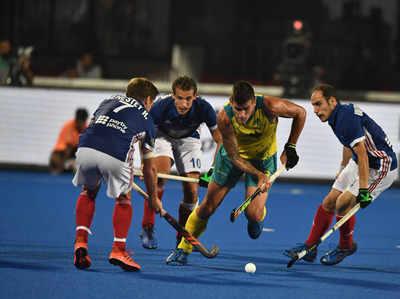 हॉकी विश्व कप: फ्रांस को हराकर ऑस्ट्रेलिया सेमीफाइनल में