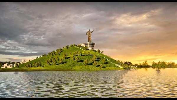 32 metres ntr statue to come up at neerukonda in amaravati