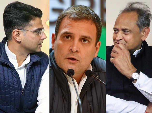 सचिन पायलट, राहुल गांधी, अशोक गहलोत (फाइल)