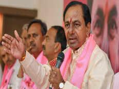k chandrashekar rao takes oath as telangana cm for second consecutive term