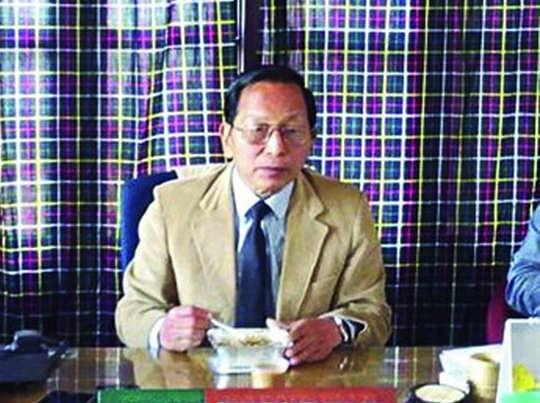 मिजोरम बीजेपी के अध्यक्ष जॉन वी लूना