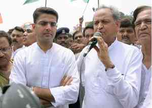 congress suspension continue new cm of rajasthan