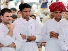 rahul to hold fresh round of discussions with rajasthan cm hopefuls ashok gehlot sachin pilot