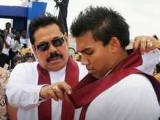 mahinda rajapaksa has decided to resign srilanka prime minister post says namal rajapaksa
