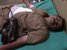 govt bus conductor collapsed after 4 days heavy work in vellore