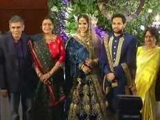 saina nehwal and parupalli kashyap wedding reception at novotel hyderabad
