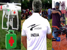 actor ajiths team dheksha almost done life saving drug deliverying drone work