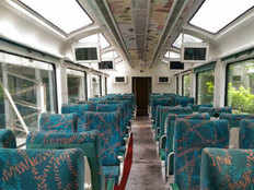 know everything about vistadome coach that runs between mumbai and goa
