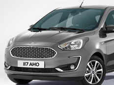 ford figo facelift model surfaced
