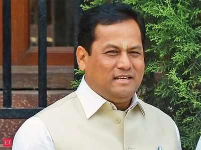 फाइल फोटो: असम के मुख्यमंत्री सर्बानंद सोनोवाल