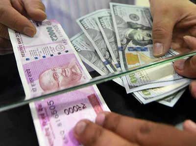 शुरुआती कारोबार में डॉलर के मुकाबले रुपया 50 पैसे मजबूत