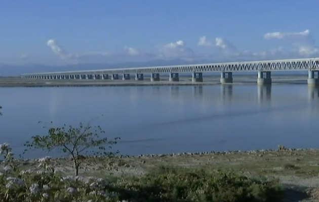 भारत का सबसे लंबा रेल-रोड ब्रिज उद्घाटन के लिये तैयार, पीएम नरेंद्र मोदी करेंगे उद्घाटन
