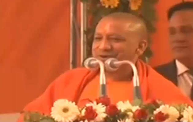 अयोध्या में राम मंदिर सिर्फ बीजेपी ही बना सकती है : योगी आदित्यनाथ
