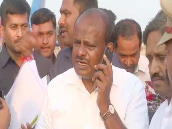 shocking karnataka cm kumaraswamy orders kill mercilessly caught on camera