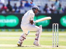 india vs australia 3rd test day 1 mayank agarwal falls to pat cummins at tea