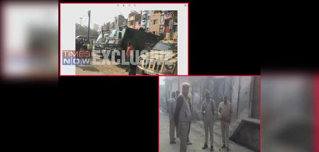 दिल्ली, यूपी में NIA  की छापेमारी, 5 संदिग्ध गिरफ्तार