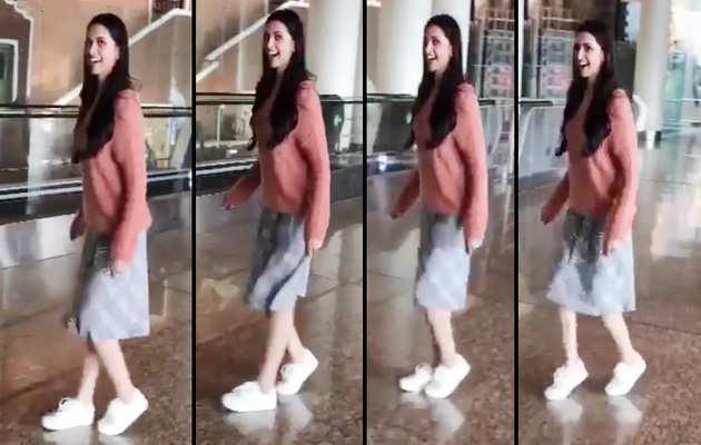 दीपिका पादुकोण की मून वॉक के विडियो को फैन्स ने खूब किया पसंद