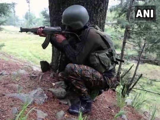 Pulwama Encounter: काश्मीर: पुलवामामध्ये चार दहशतवाद्यांचा खातमा