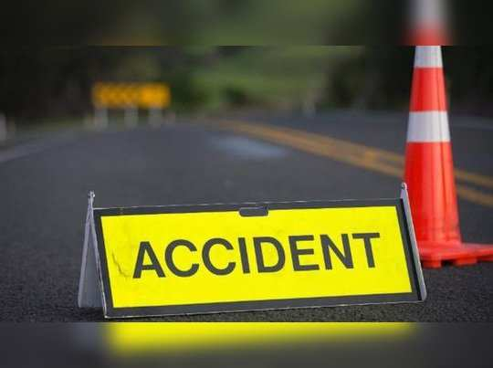 accident in kaipamangalam one dead
