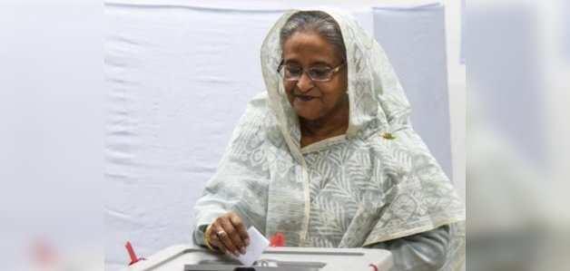 बांग्लादेश चुनाव: शेख हसीना चौथी बार बनेंगी प्रधानमंत्री