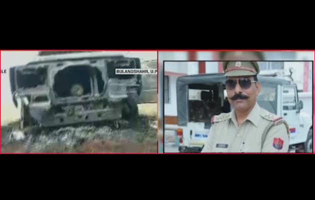 बुलंदशहर हिंसाः इंस्पेक्टर सुबोध पर कुल्हाड़ी से वार करने वाला आरोपी अरेस्ट