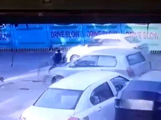 मुंबई: भरधाव कारनं उडवल्यानं तरुणी कोमात