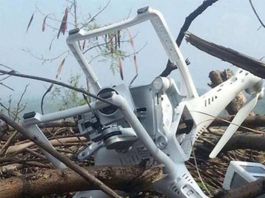 भारतीय ड्रोन उद्ध्वस्त केल्याचा पाकिस्तानचा दावा
