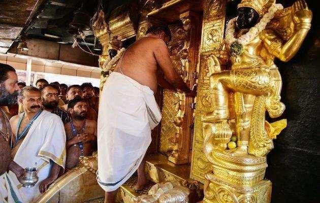 सबरीमाला: तमिल मूल की श्रीलंकाई महिला ने चढ़ी 18 सीढ़ियां