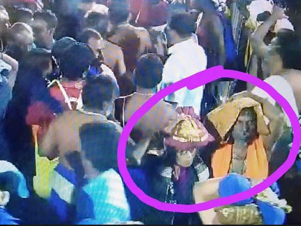 cctv footage confirms 47 year old sri lankan woman visited sabarimala temple