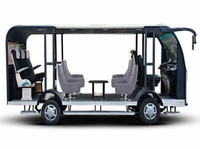 LPU के स्टूडेंट्स ने बनाई देश की पहली सोलर पावर्ड-ड्राइवरलेस बस, कीमत केवल 6 लाख