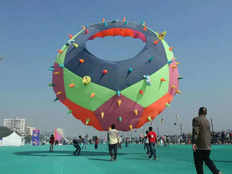 if you are kite lover then be a part of ahmadabad international kite festival