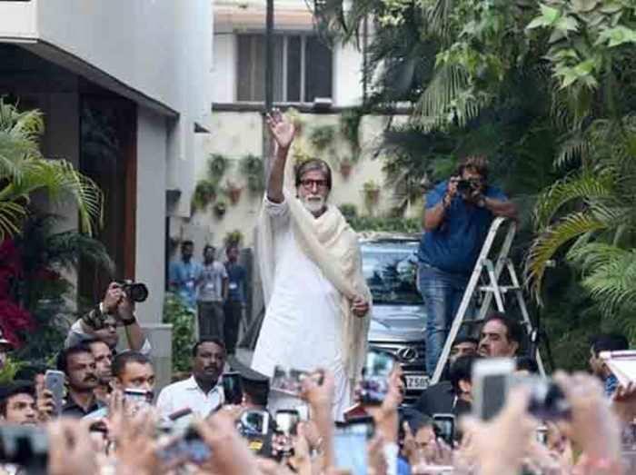 बॉलिवुड अभिनेता अमिताभ बच्चन