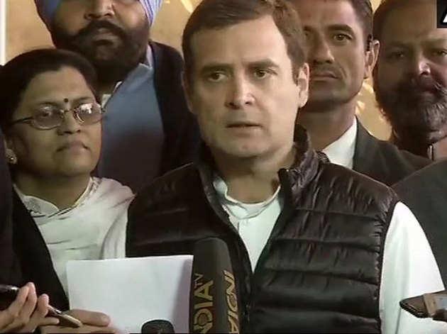 राहुल ने कहा, 'लोकसभा में सिर्फ झूठ बोला गया'