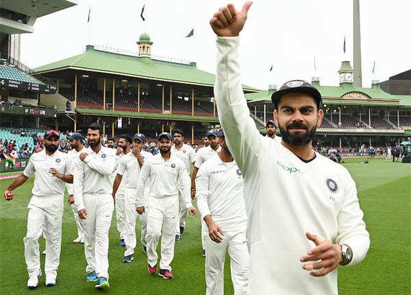 विराट कोहली की टीम बनी पांचवीं टीम